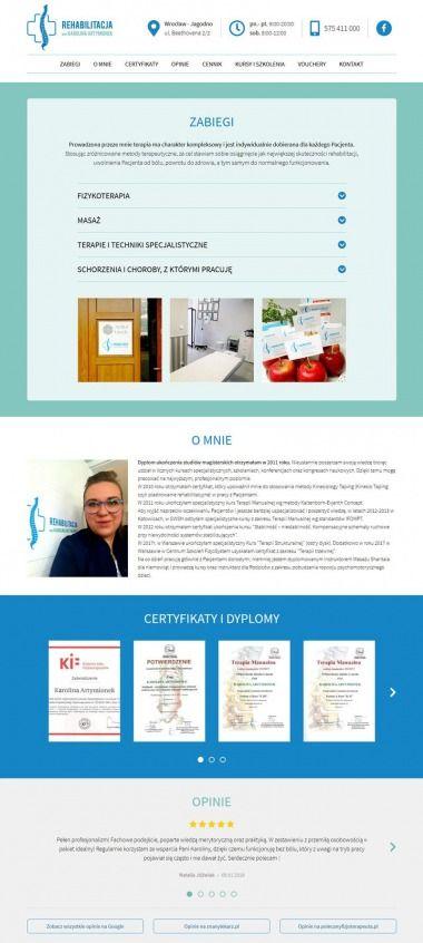 Strona www fizjoterapeuty