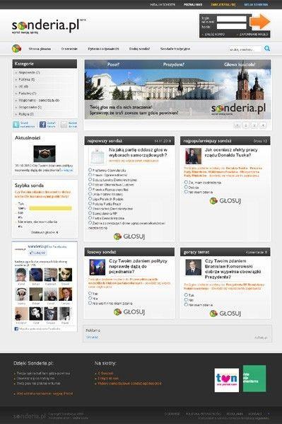 Portal z sondażami online