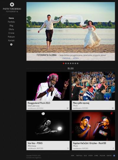 Portfolio i blog fotografa