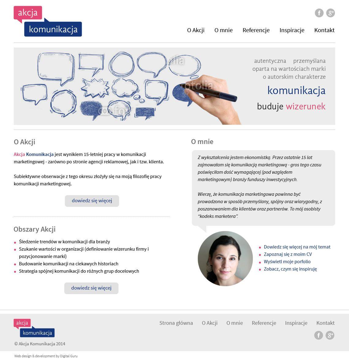 Identyfikacja wizualna i strona www firmy