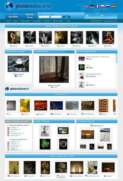 Portal społecznościowy dla fotografów